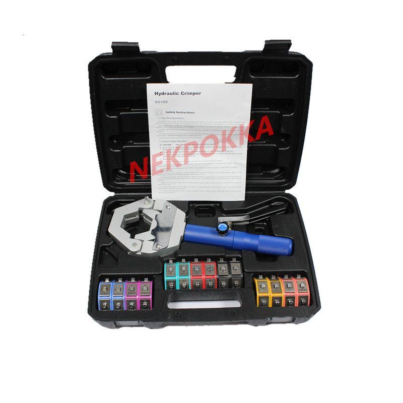 1500 hydra-krimp A/C tuyau Kit de sertissage hydraulique raccords de tuyau ensemble d'outils de sertissage
