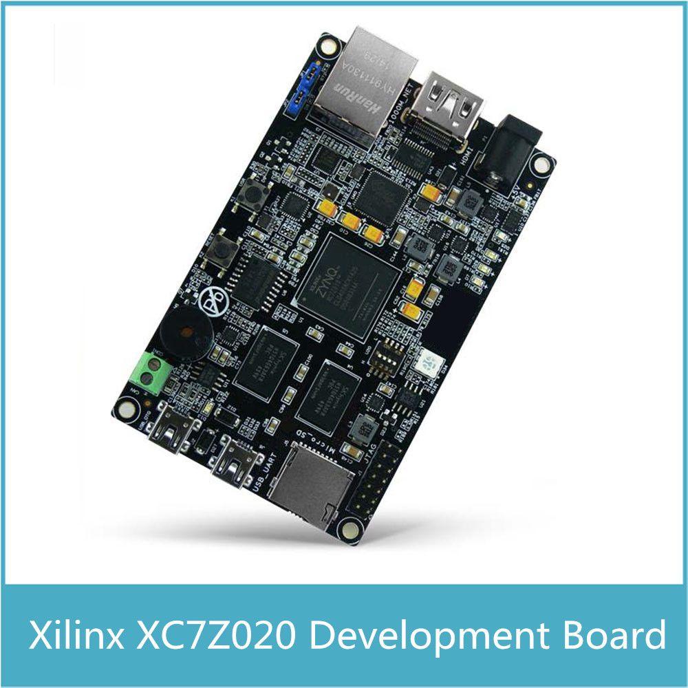XILINX ZYNQ-7020 ARM Cortex A9 + Xilinx XC7Z020 FPGA Entwicklung Board Steuerung XC7Z020 Schaltung DEMO Board Kostenloser Versand