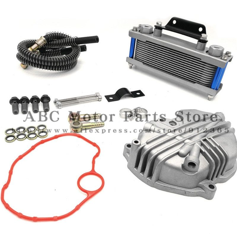 Oil Cooler radiator Dirt Pit Bike Monkey Racing Motorcyle High performance refires accessories Kayo BSE Curved beam Bike