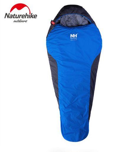 Naturehike Ultralight Mummy Sleeping Bag Outside Hiking Camping Winter Warm   Sleeping Bags 1.1kg NH15S013-D