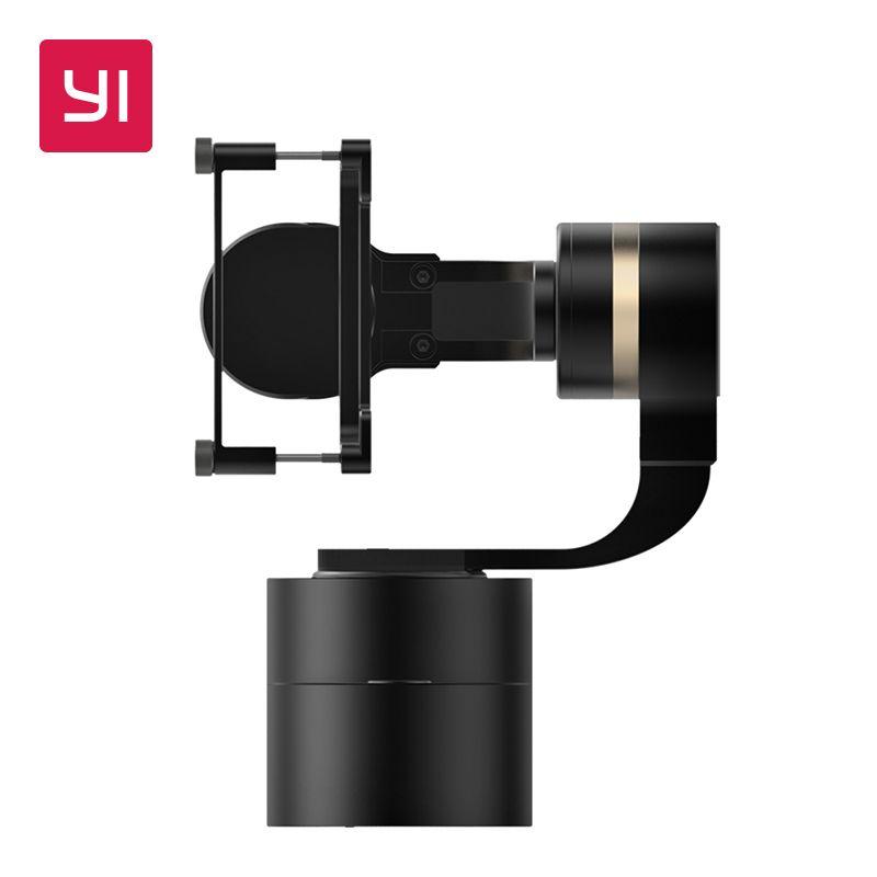 YI cardan à main 3 axes panoramique/inclinaison/rouleau réglage manuel 320 degrés Compact et léger pour caméra d'action YI 4 K Plus 4 K YI Lite