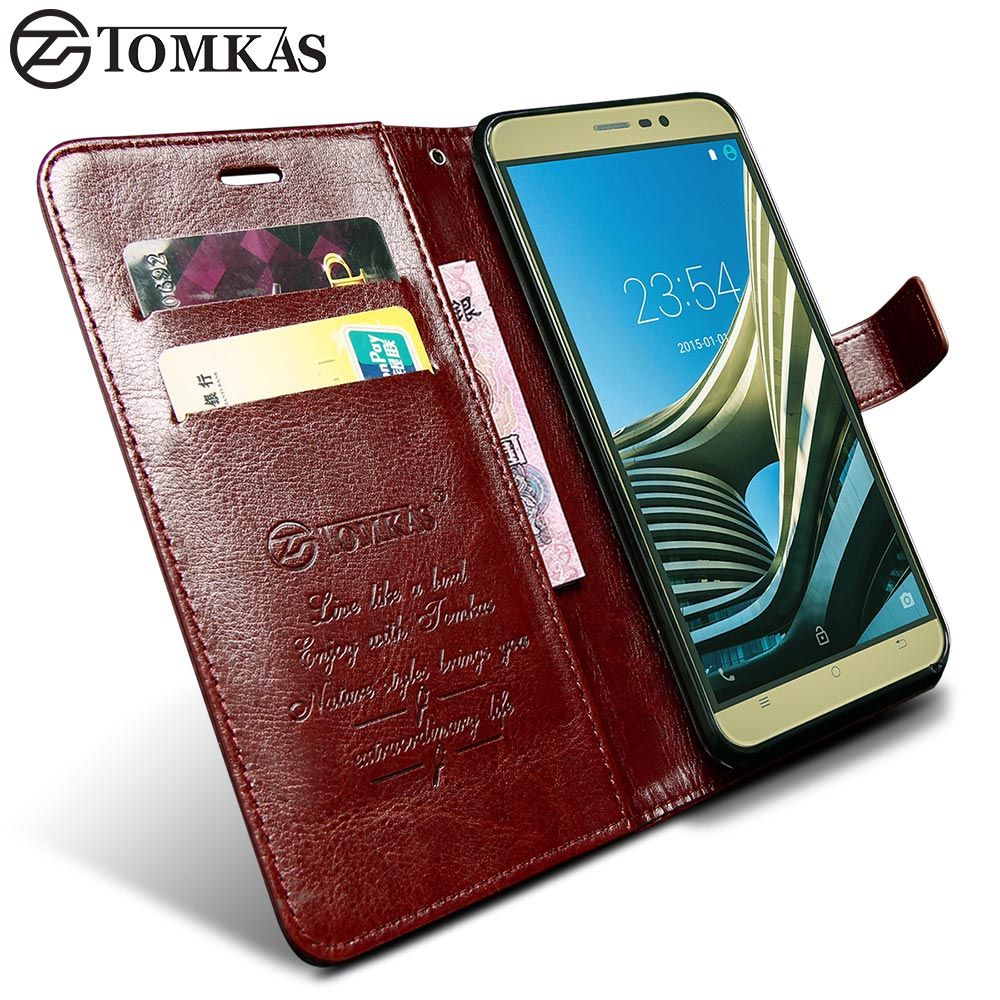 TOMKAS For Cubot Note S Case Cover Cubot Dinosaur Wallet Flip Kickstand PU Leather Case For Cubot Note Dinosaur Business Style