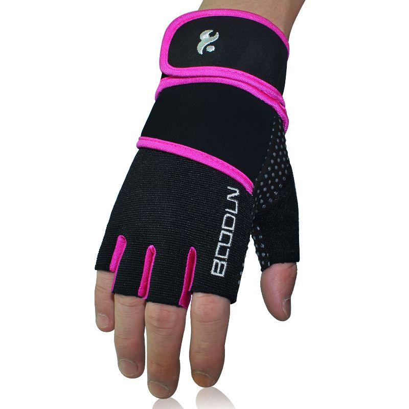 Fitness Gloves Women Gym Crossfit Bodybuilding Workout Wrist Wrap Sports Gloves for horizontal bar <font><b>Training</b></font> Dumbbell Barbell