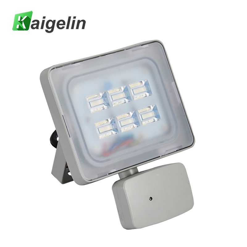 Projecteur infrarouge de capteur de mouvement de lampe de capteur de mouvement de la lumière d'inondation IP65 220 V-240 V 2400LM PIR de 20 W PIR LED éclairage extérieur de SMD2835