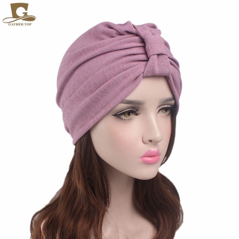 New Vintage bowknot Turban Rétro Turbans pour Femmes Chimiothérapie Contre Le Cancer Patients Tête couverture