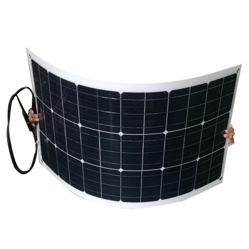 Flexible Solar Panel 12 v 80 w Solar Batterie Ladegerät Solar Telefon Ladegerät Marine Yacht Boot Caravan Auto Camping Wasserdicht