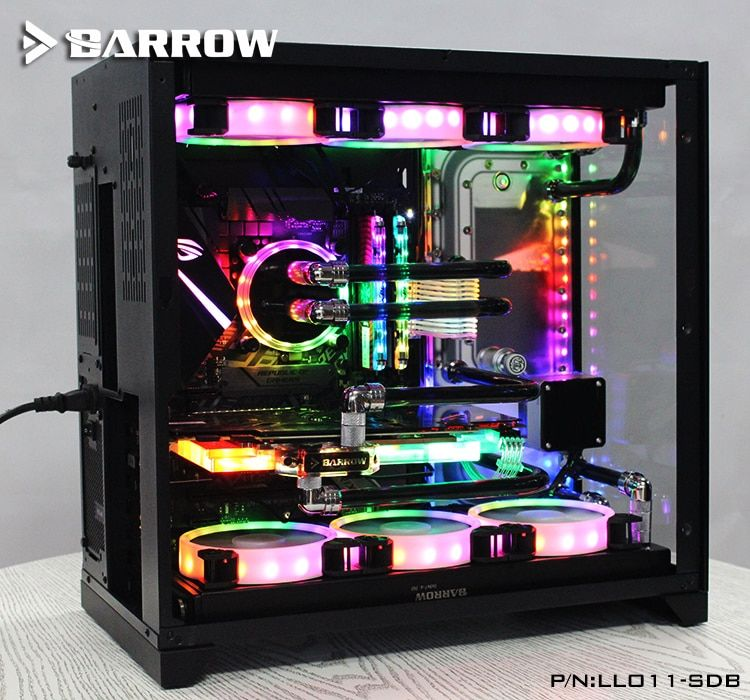 Barrow LLO11-SDB, Waterway Boards For Lian Li PC-O11 Dynamic Case, For Intel CPU Water Block & Single GPU Building