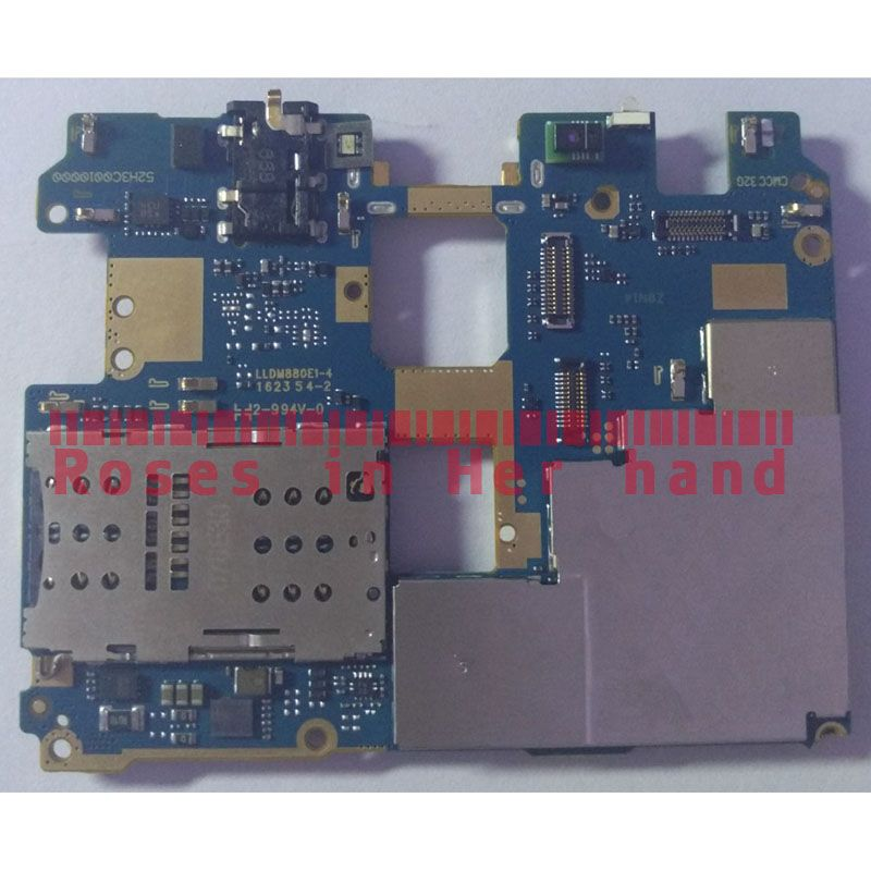 Full Working Original Unlocked For Xiaomi Redmi Pro 32GB Motherboard Logic Mother Board MB Plate