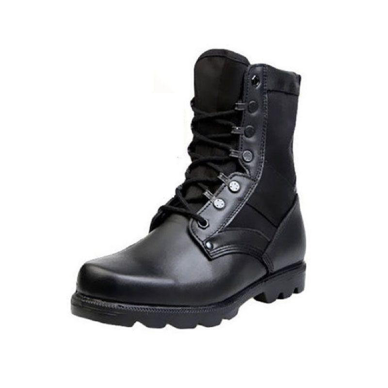 Men Waterproof Military Tactical Boots Outdoor Wear-Resistant Warm Hiking Boots Labor Insurance Breathable Trekking Shoe AA12009