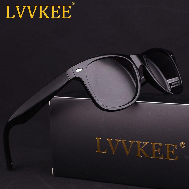 Горячие lvvkee модных брендов Для мужчин Классические Для женщин поляризатор очки ретро UV400 HD Путешествия куртка солнцезащитные очки лучи чер...
