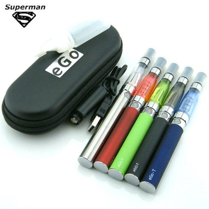 Sous deux EGO CE4 Kits 1.6ml Vape atomiseur 650 mah-1100 mah 510 Evod Ego batterie Vape Kit vaporisateur cigarette électronique Vaper stylo