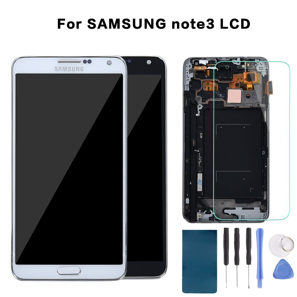 5.7'' LCD For Samsung Galaxy Note 3 LCD Display Note3 N9005 Touch Screen Digitizer with Frame N9002 N9006 Replace