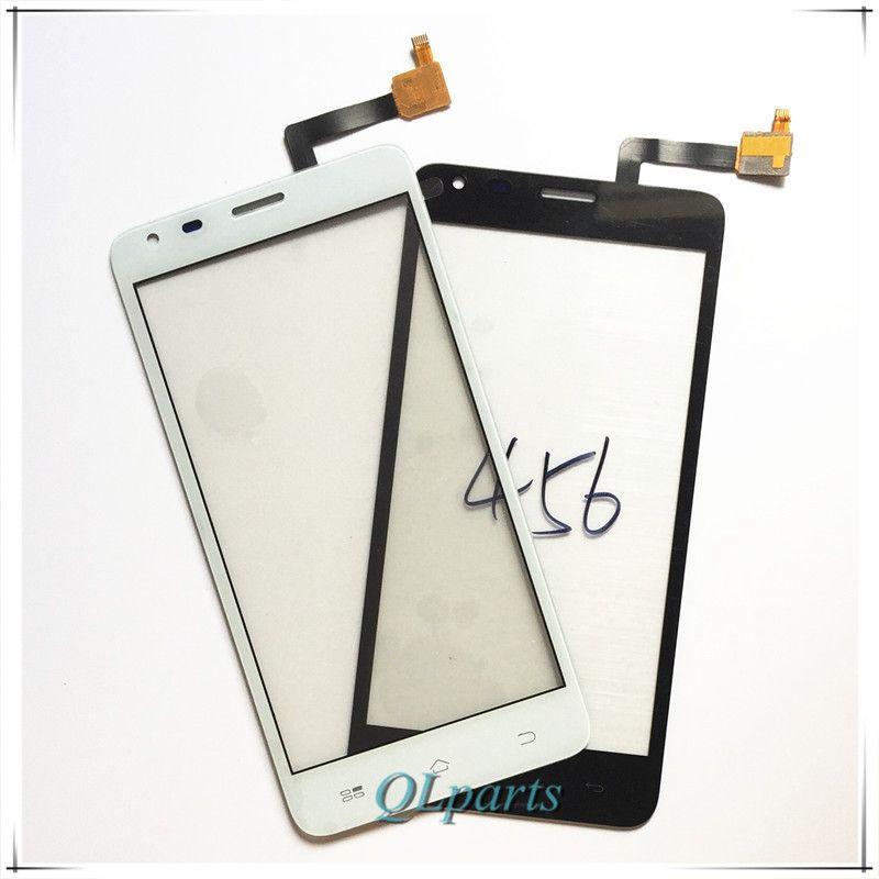 Haute Qualité Remplacement Mobile Téléphone Écran Tactile Pour Fly IQ456 ERA Vie 2 Avant Digitizer Panneau de Verre Objectif Écran Tactile Capteur
