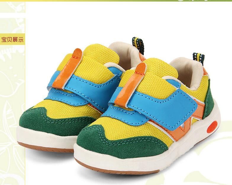 Модные для маленьких мальчиков и девочек парусиновые кроссовки Из коровьей кожи Patch Kids обувь дышащая высокое качество обувь для детей