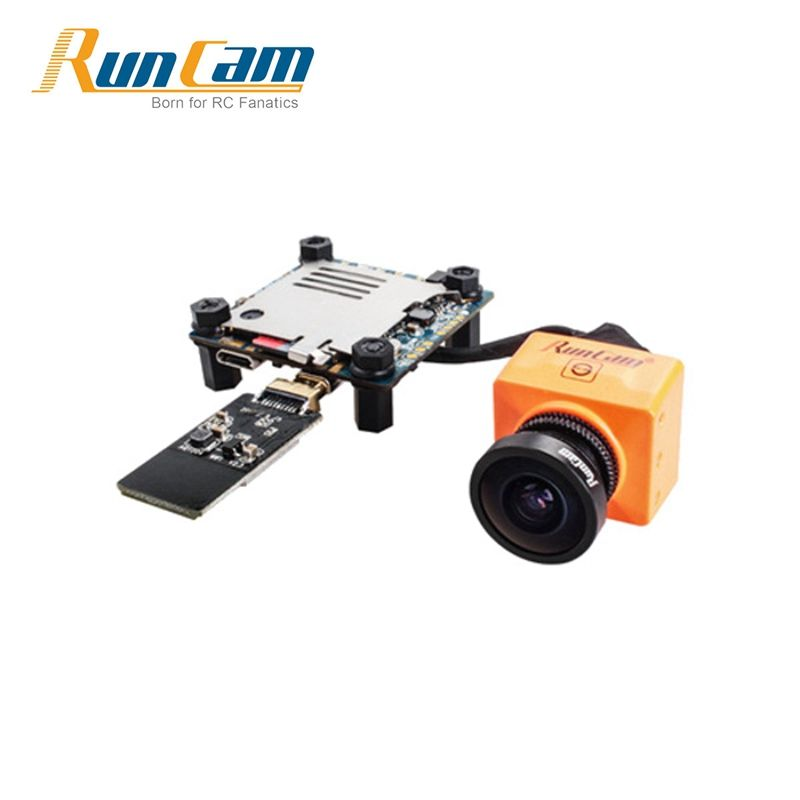 In Stock RunCam Split 2 FOV 130 Degree 1080P / 60fps HD Recording Plus WDR FPV Action Camera NTSC / PAL Switchable VS 3 Eagle 2