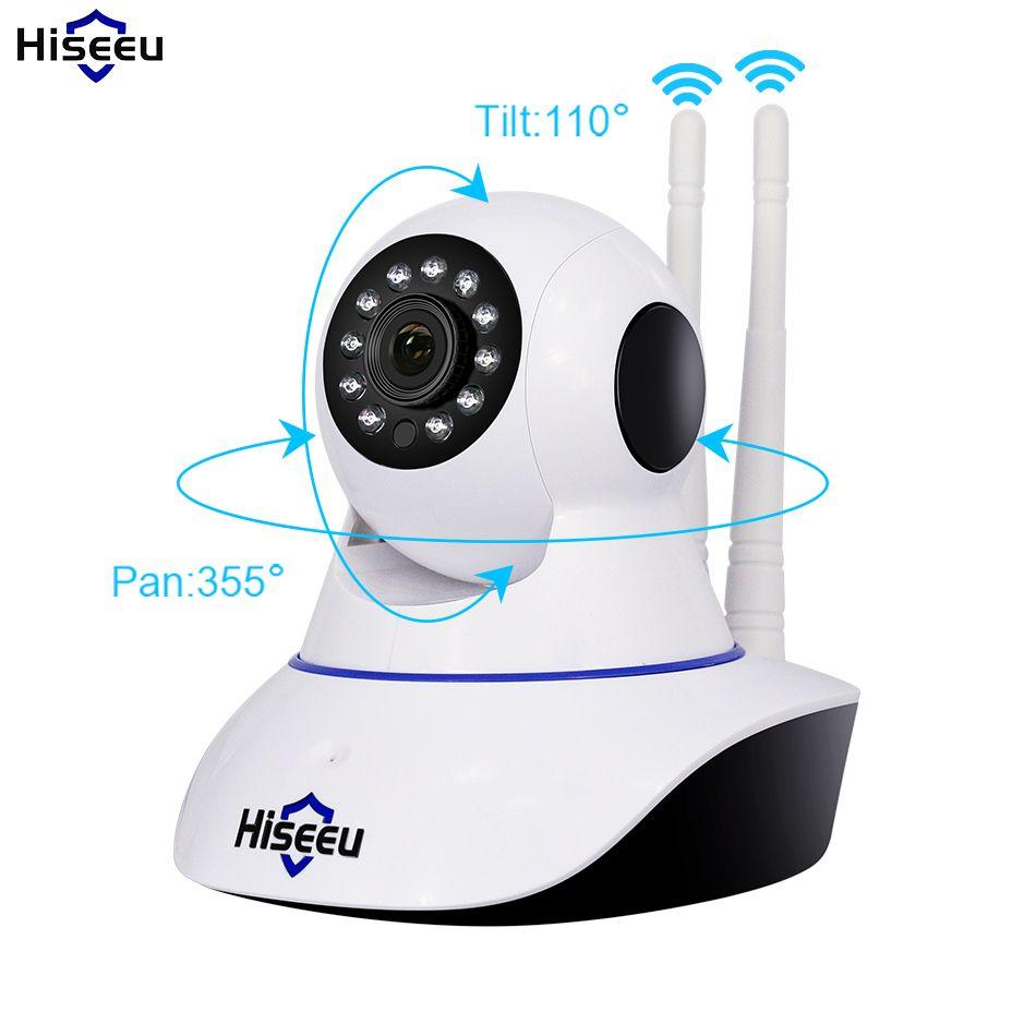 Hiseeu 720P 960P Wireless IP Camera Wifi Night Vision Camera IP Network Camera alarm CCTV home security WI-FI P2P 1MP 1.3MP
