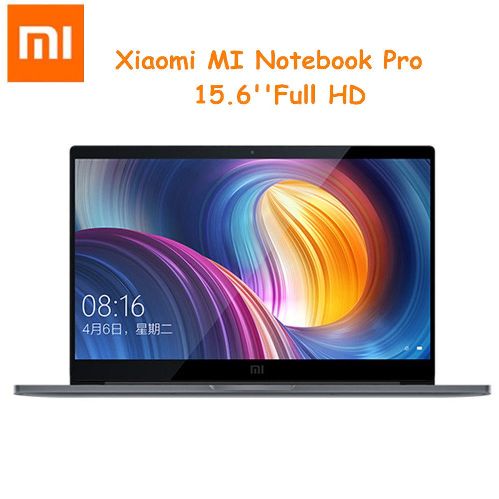 Xiaomi Mi Notebook Pro Laptops 15.6 inch Win10 Intel Core i7-8550U 16GB RAM 256GB SSD Fingerprint Recognition Dual WiFi Laptop