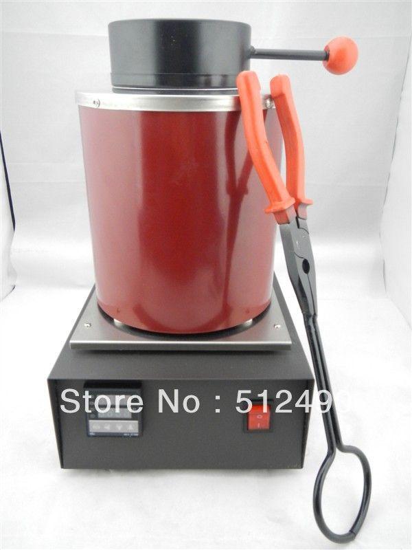 220V ,2KG melting furnace&aluminum ,gold melting machine for sale