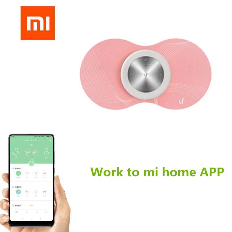 Xiaomi Mijia LF Smart Warm Massager Body Muscle Relax Women Menstruation Massager Magic <font><b>Stickers</b></font> for Mi home app (English) APP
