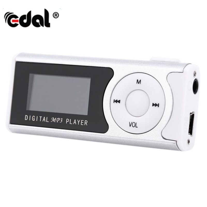 New Mini USB Clip LCD Screen MP3 Media player Unterstützt 8 GB Micro SD für Musik Media Player