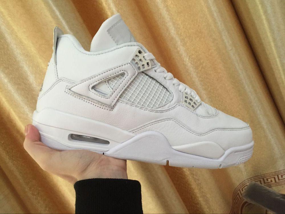 Free shipping 2017 JORDAN Basketball Shoes High-Top men Sneakers  Cushion white jordan Basketball Shoes Jordan  4