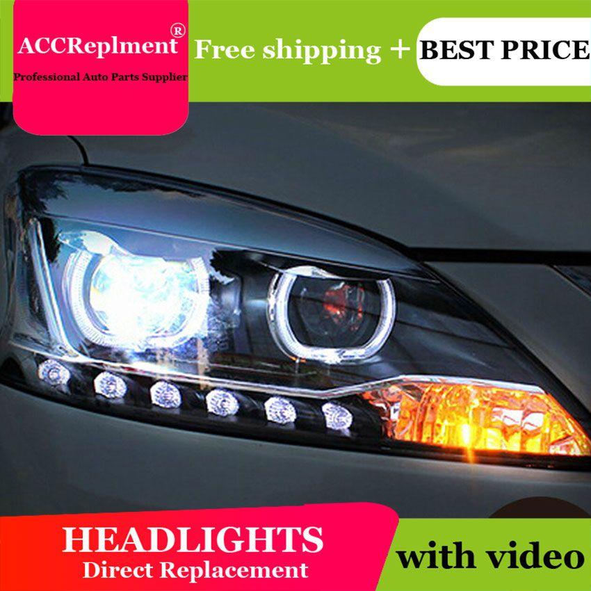 Auto Styling LED Kopf Lampe für Nissan Almera scheinwerfer 2013 Sentra led scheinwerfer Sylphy drl H7 hid Q5 Bi- xenon Objektiv abblendlicht