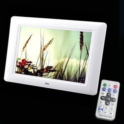 7 Inch TFT Screen LED Backlight High-Definition Digital Photo Frame Electronic Album Picture Music Video Porta Retrato Digital