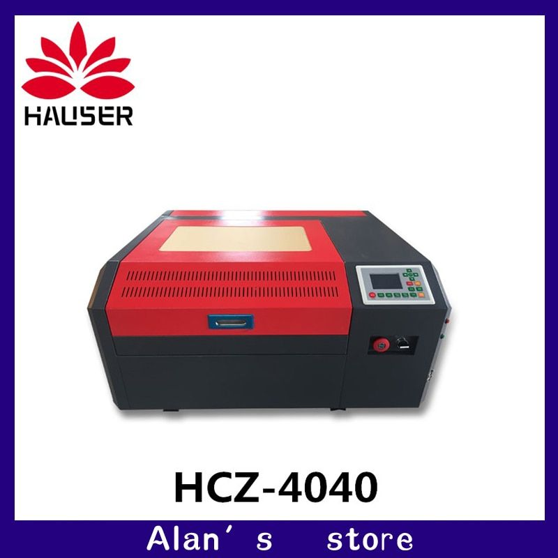 50 watt Co2 Laser 4040 laser gravur maschine für schneiden sperrholz, holz, MDF, acryl, Crytal, glas, Papier, Kunststoff, Plexiglas