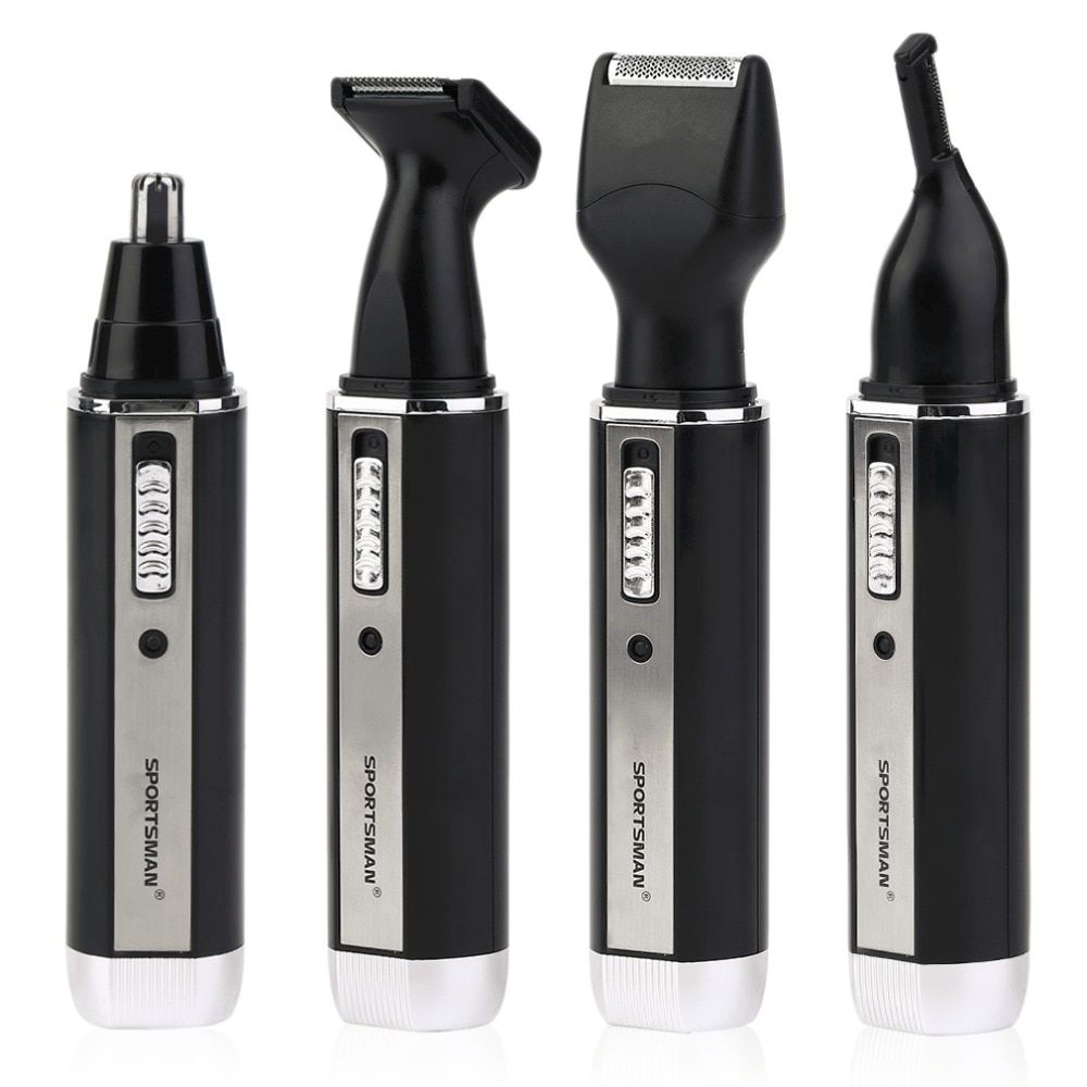 4 In 1 Waterproof Rechargeable Electric Men Male Ear Nose Trimmer Hair Clipper Shaver Beard Trimmer <font><b>Machine</b></font> drop shipping