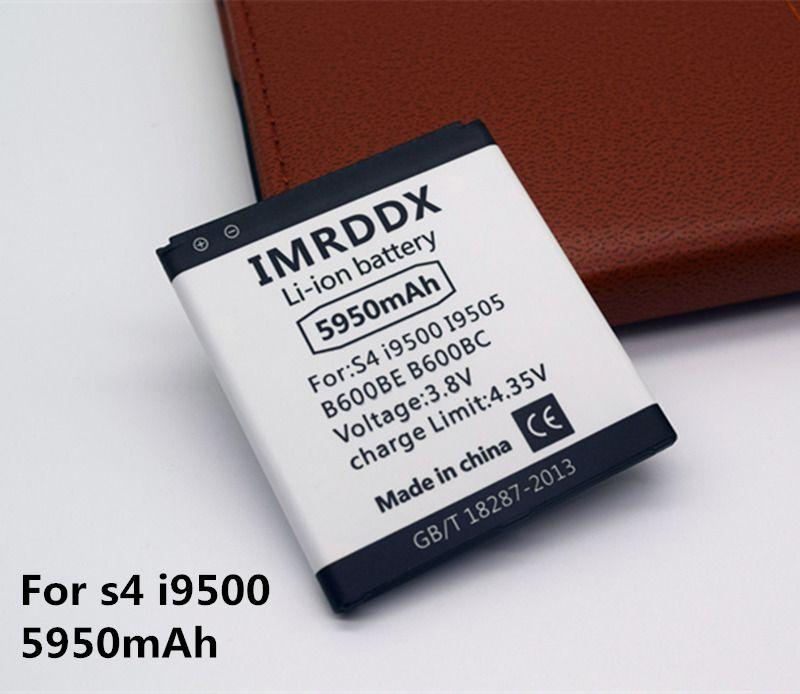 IMRDDX 5950 mAh B600BC B600BE B600BU Für Samsung S4 Batterie i9502 i9508 i959 i9158 i9506 S4 Aktive I9295 i9505 i9500 batterie
