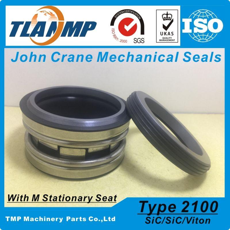 Type 2100-1-40 , TJ-0400 , T2100-40 , 2100-40 (L3) John Crane Elastomer Bellows Mechanical Seals (Material:SiC/SiC/Viton)
