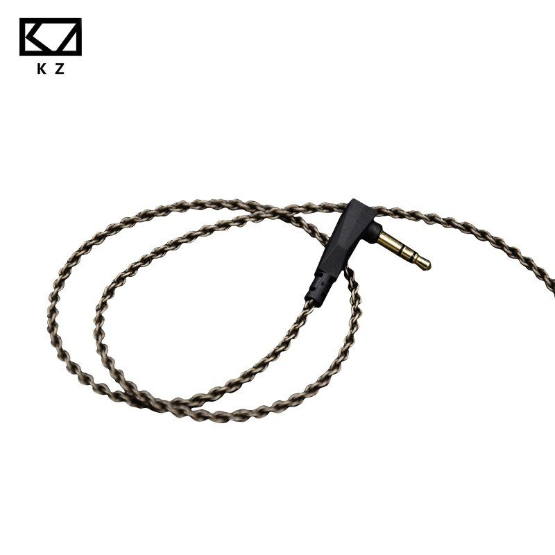 KZ ZS3/ZS4/ZS5/ZS6 1.2M High Purity Oxygen Free Copper Headset Silver Plated Wire 0.75mm Pin Upgrade Cable For Original Official