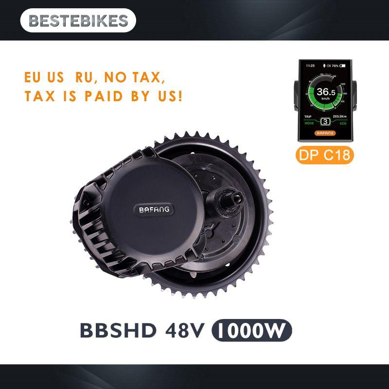 Bafang motor BBSHD 48 V 1000 w bbs03 mitte antrieb motor elektrische motor electric bike conversion kit velo electrique elektrische bike kit
