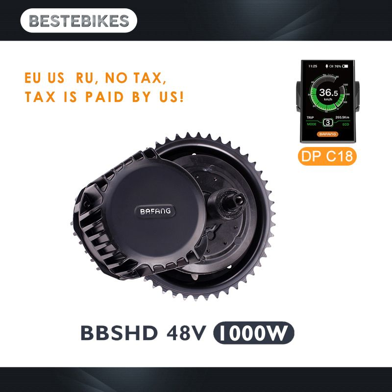 Bafang motor BBSHD 48 V 1000 w bbs03 mitte antrieb motor elektrische motor electric bike conversion kit velo electrique elektrische bike kit