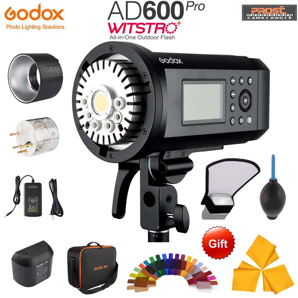 Upgrade Godox AD600Pro 600 watt Outdoor-Li-on Batterie TTL HSS Eingebaute 2,4g Wireless X System mit xpro-C/N/S/F/O Trigger