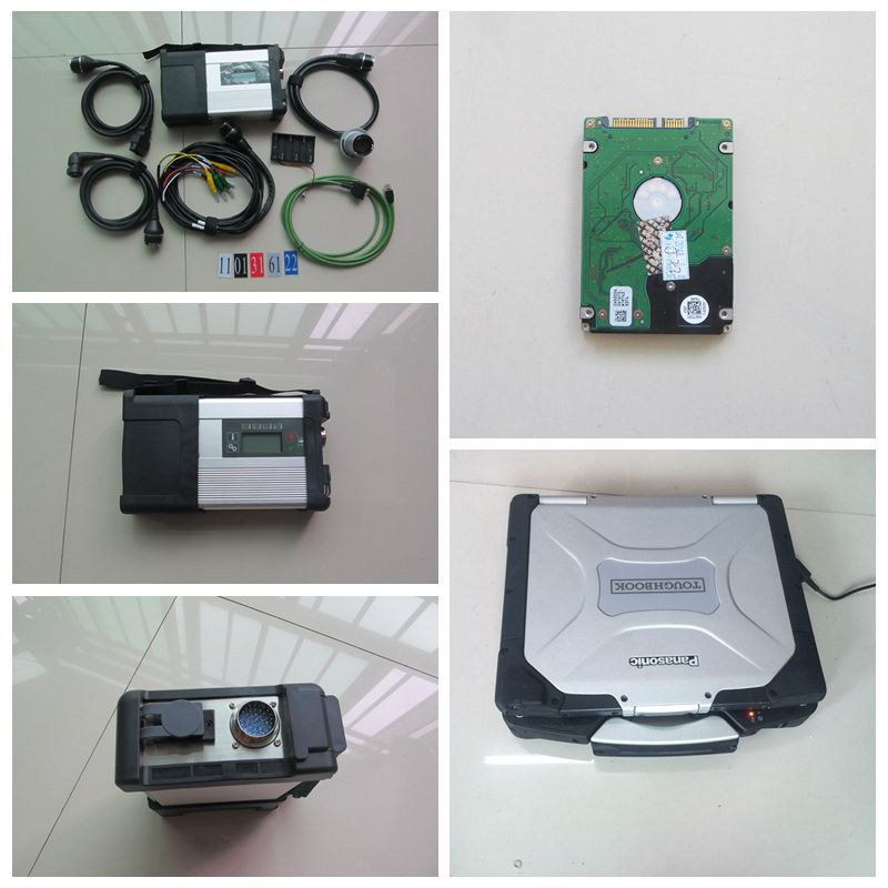 wired& wireless mb sd c5 star diagnosis mb star c5 with laptop for panasonic cf30 4gb ram cf-30 toughbook plus 2018.09v hdd