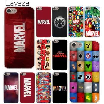 Lavaza Luxury Marvel Comics logo Hard Phone Cover Case for Apple iPhone X XR XS Max 6 6S 7 8 Plus 5 5S SE 5C 4S 10 Cases 8Plus