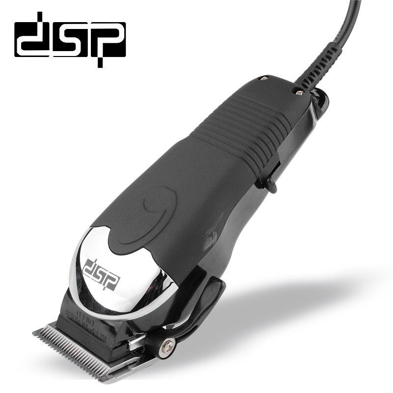 DSP e-90017 профессиональный электрический машинка для стрижки волос Титан Сталь лезвия волос Триммер Парикмахерская Резка машины волос Бритье...