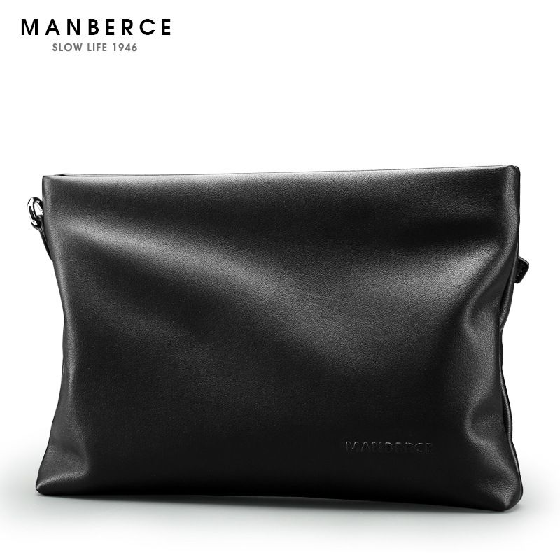 Quality Cowhide leather clutch bag, male elegant commercial multi card holder purse wallet, Ipad bag, Ipad mini bag