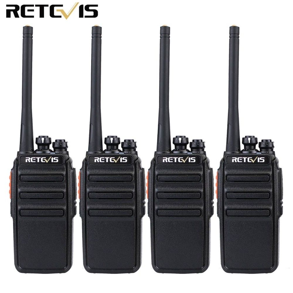4pcs Retevis RT24 Walkie Talkie PMR446 UHF 0.5W 16CH License-Free VOX Scan Ham Radio Hf Transceiver A9123