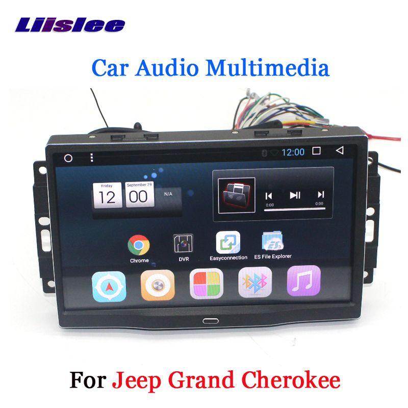 Liislee Auto Android 6.0 GPS Navigation Multimedia Für JEEP Grand Cherokee Radio BT HD Bildschirm Audio Video Keine CD DVD Player system