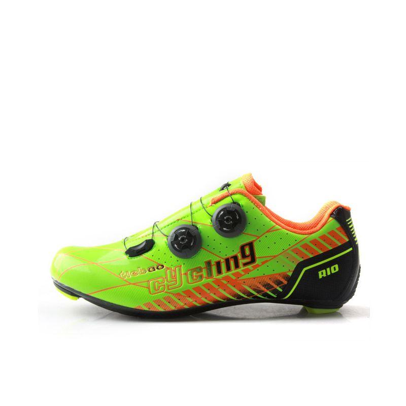 Tiebao g1680 Road Велосипедный Спорт Обувь Новое поступление открытый дорога Вело-обувь Профессиональные Углерода Волокно подошва шоссейные вело...