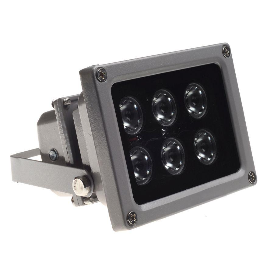 CCTV Array IR illuminator infrared lamp 6pcs Array Led IR  Outdoor Waterproof Night Vision for CCTV Camera
