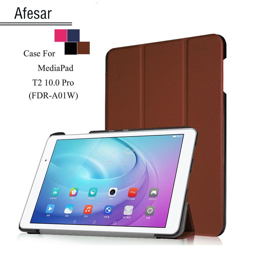 T2 Pro 10 FDR-A01W A03L tablet Smart Shell cover case For Huawei MediaPad T2 10.0 Pro ultraslim flip folio folding stand case