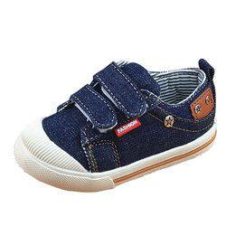 Enfants shoes pour les filles garçons sneakers jeans toile enfants shoes denim de course sport bébé sneakers garçons shoes csh227