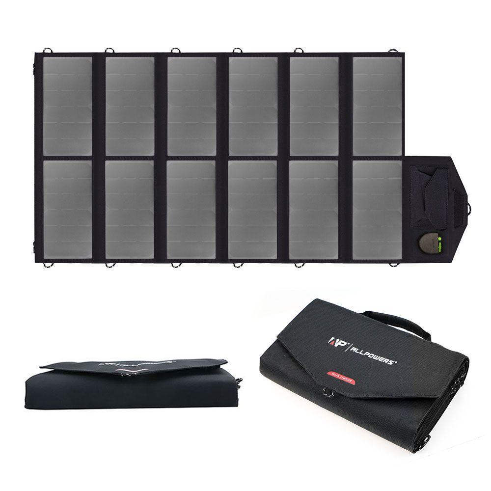 Faltbare Tragbare Solar-ladegerät 80 Watt Solar Handy-ladegerät Solar Laptop Ladegerät für iPhone iPad MacBook Samsung HTC Dell Lenovo.