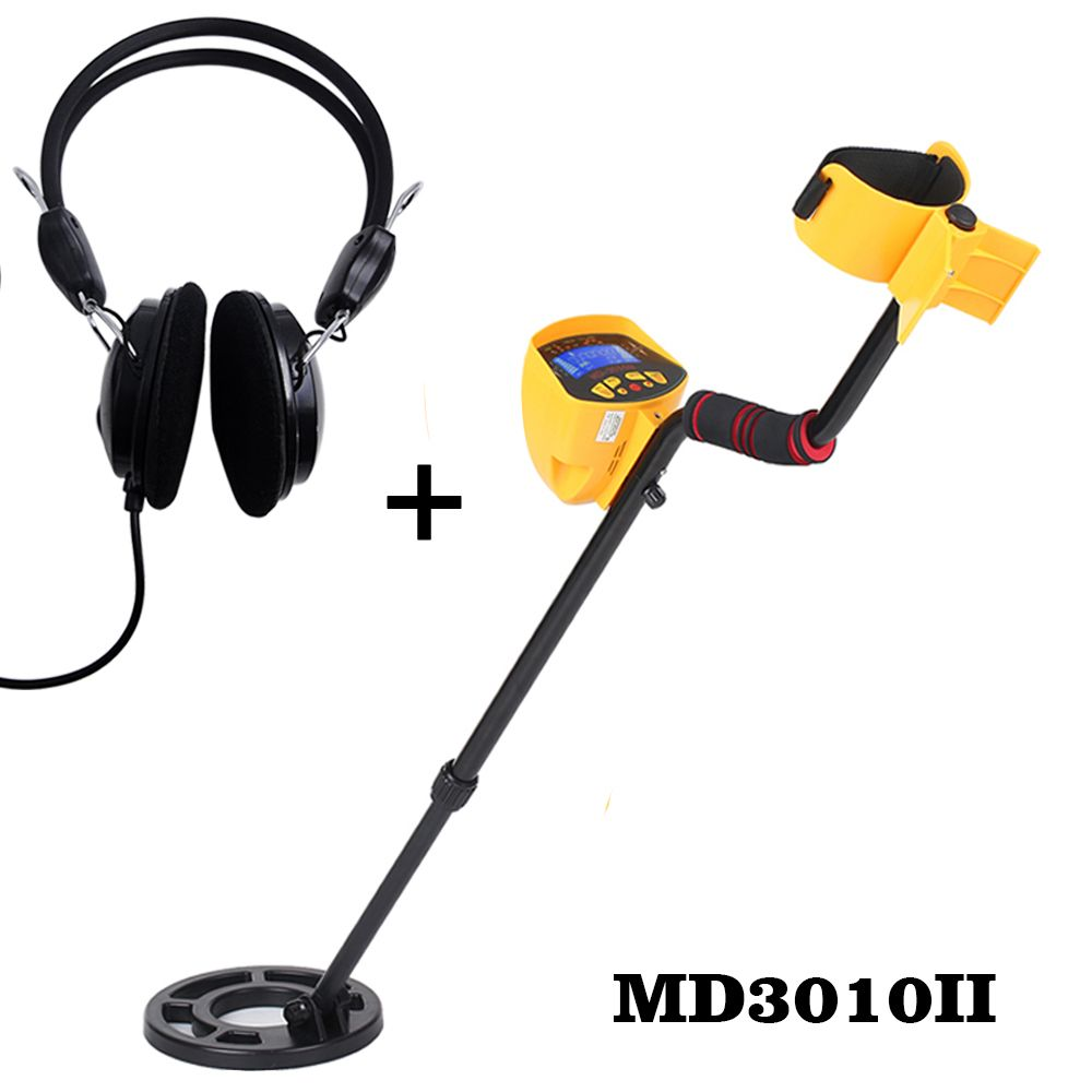 MD3010II Underground Metal Detector Searching Treasure sensitive Gold Digger Treasure Hunter Metal <font><b>Finder</b></font> Seeking Tool MD-3010II