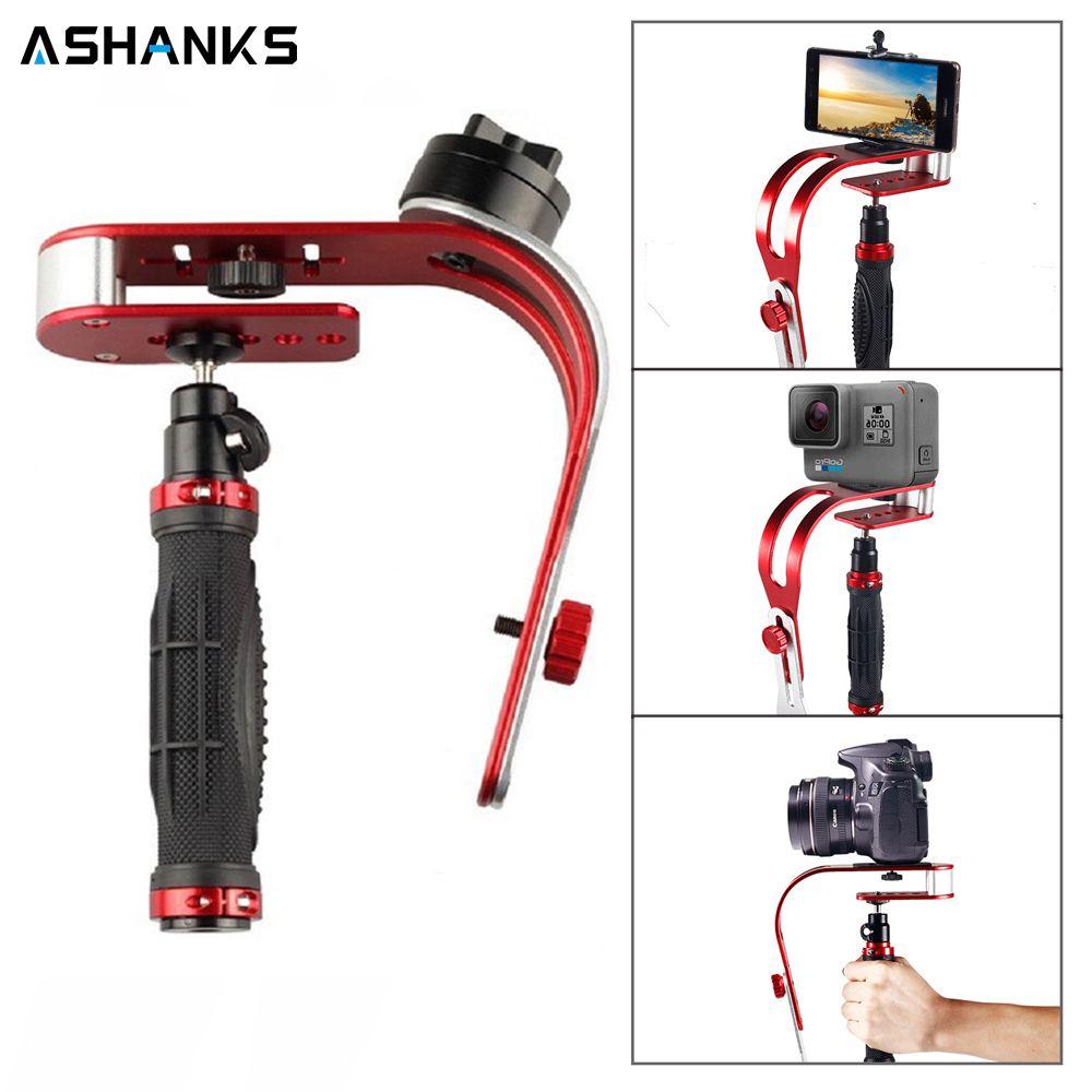 Support de caméra stabilisateur de poche stabilisateur vidéo pour Studio Photo Canon Nikon Sony Gopro Hero DSLR iphone Samsung