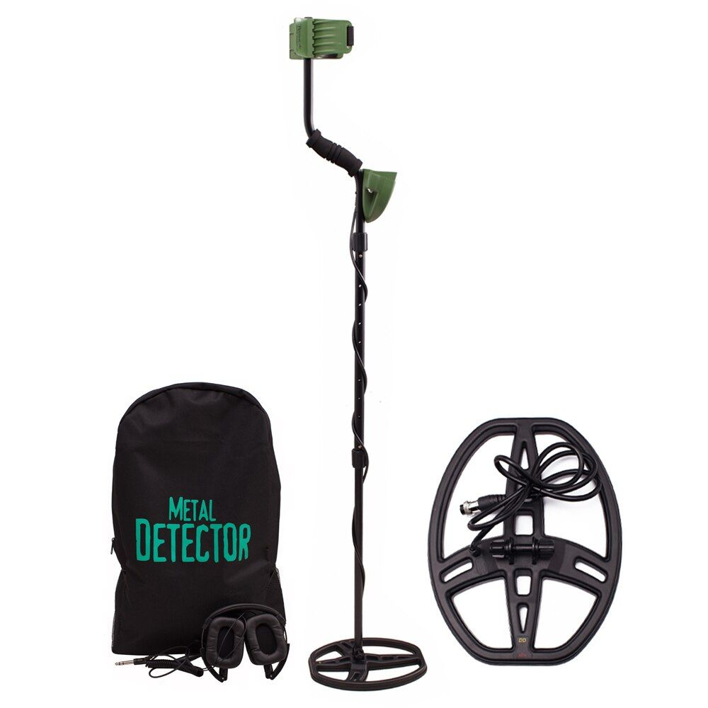 Hohe Empfindlichkeit MD6350 Professionelle Metall Detektor Unterirdische Suche mit Wasserdicht Spule und Kopfhörer Pinpointer Hunter Gold