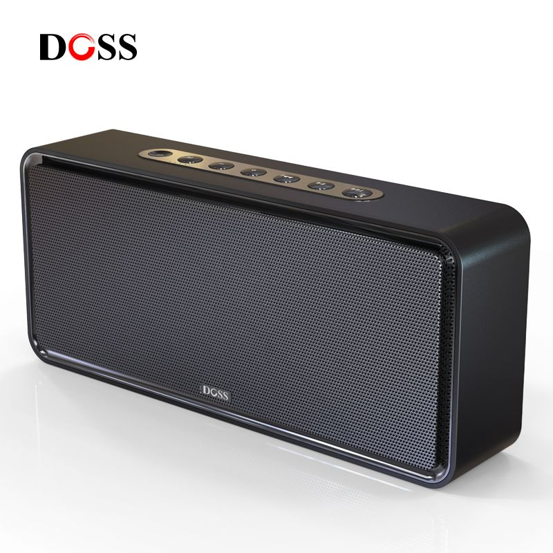 DOSS SoundBox XL Portable Wireless Bluetooth Speaker Dual-Driver 3D <font><b>Stereo</b></font> Bold Bass Subwoofer Music Surround Support TF AUX USB